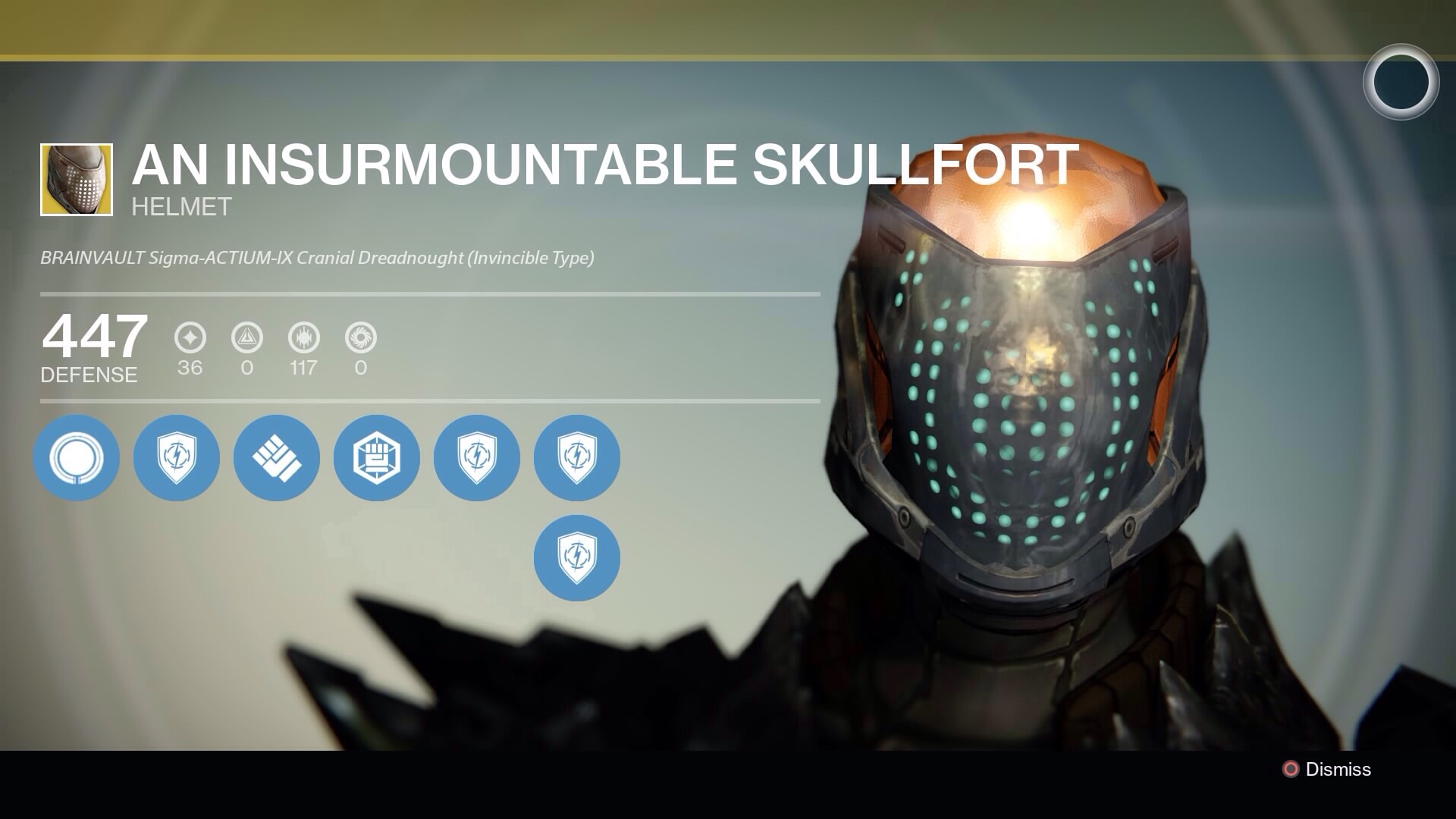 Destiny - Titan An Insurmountable Skullfort