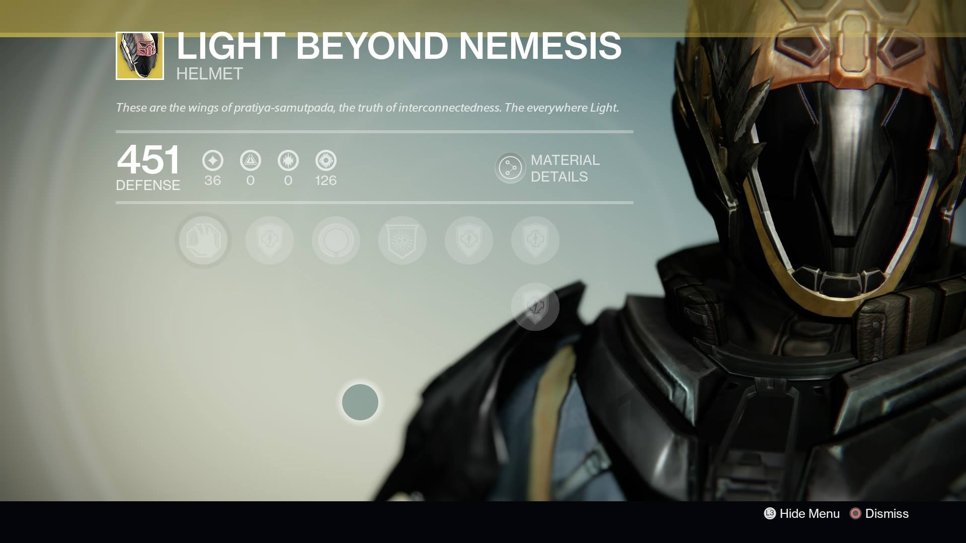 Destiny - Warlock Light Beyond Nemesis