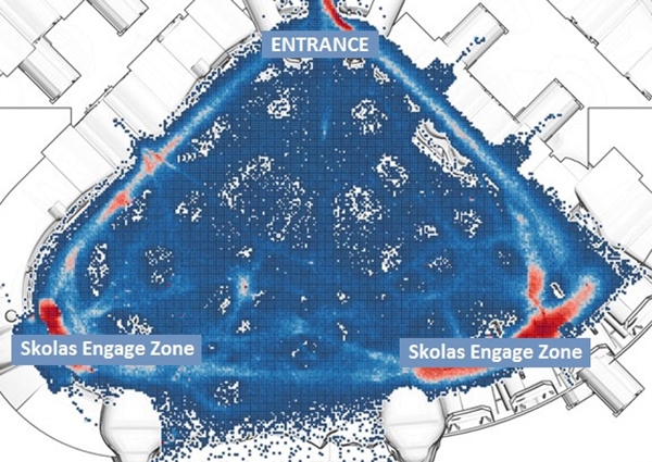 Level 35 Skolas - Safe Zones Map