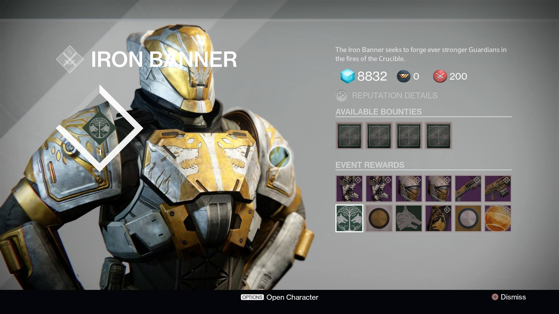 Iron Banner Gear - Some of the Best in Destiny PvP