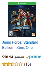 Jump Force - Standard Edition - Xbox One
